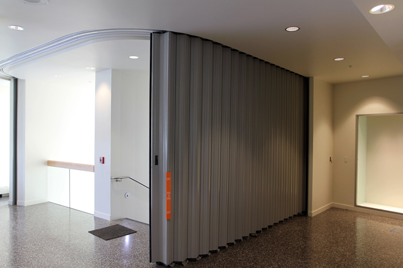 Accordion Fire Doors & Accordion Fire Doors - Interior Tech | Seattle | Portland