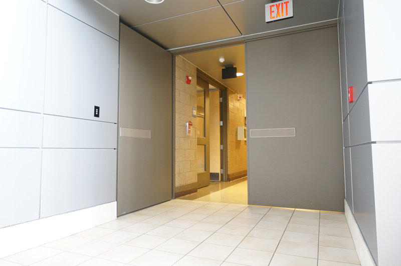 Cross Corridor Area Separation Doors Interior Tech