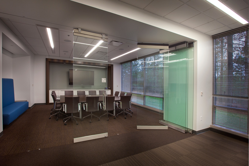 Operable Glass Partitions Modernfold Interior Tech