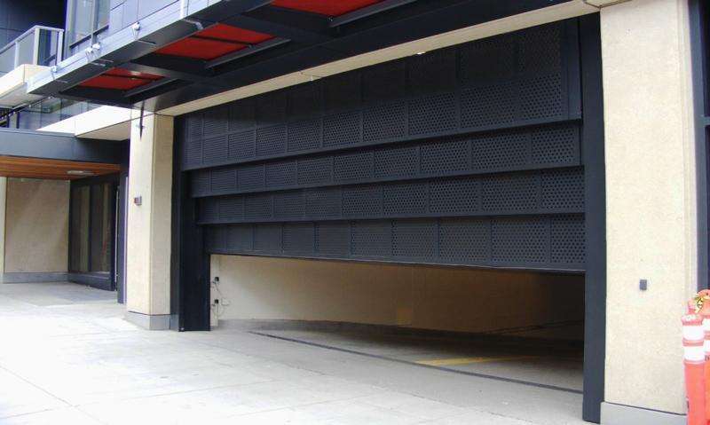 Vertical Lift Sectional Doors Interior Tech Seattle
