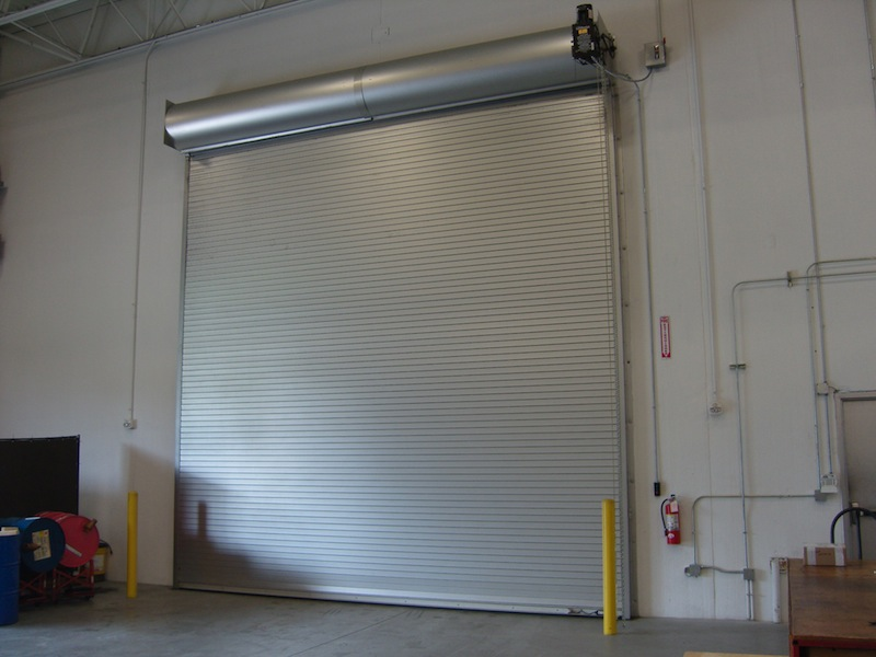Coiling fire doors interior tech seattle portland for Interior roll up security doors
