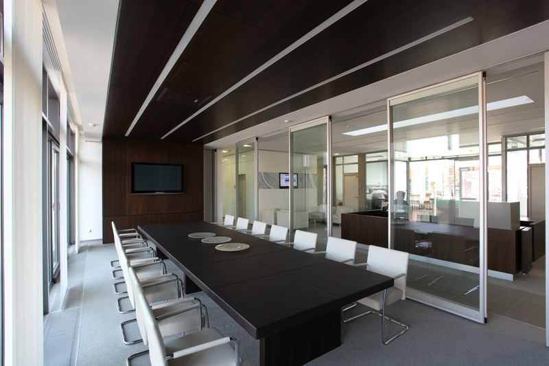 Operable Glass Partitions - Modernfold - Interior Tech ...