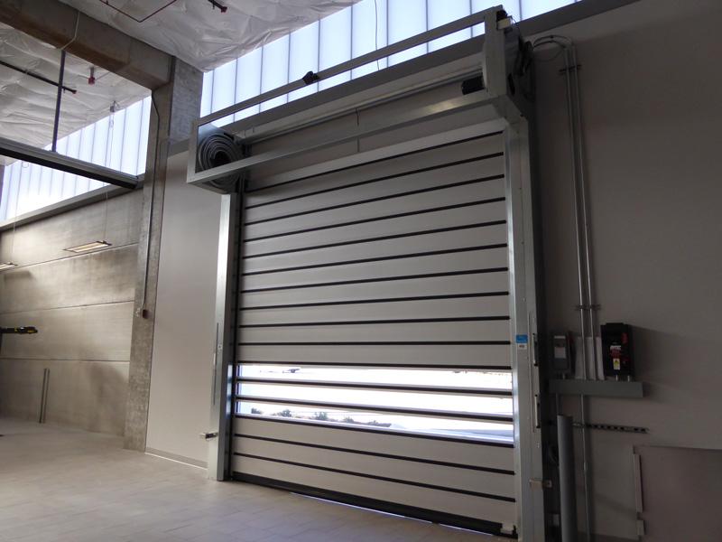 Rytec High Speed Spiral Doors Interior Tech Seattle