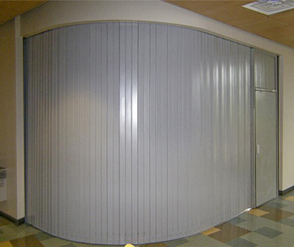 Side Acting Door With Emergency Egress Interior Tech