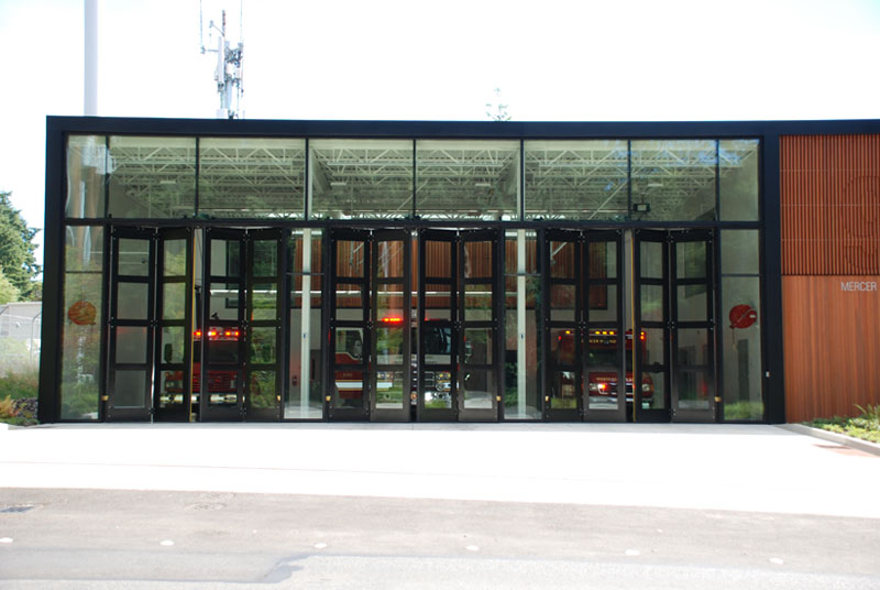 The ...  sc 1 st  Interior Tech & Four-Fold Fire Station Doors - Interior Tech | Seattle | Portland