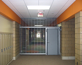 Emergency Egress Grilles