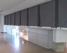 vertical-coiling-fire-smoke-curtain-with-egress