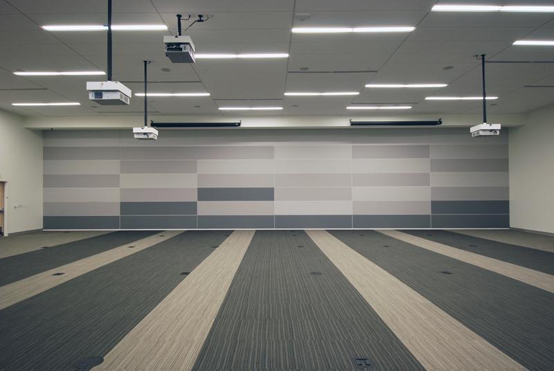 Vertically Folding Operable Walls