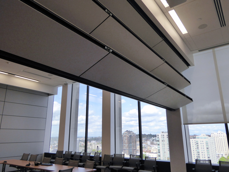 UW Facilities Services Training Center- Skyfold & Vertical Folding Acoustical Partitions - Skyfold - Interior Tech ...