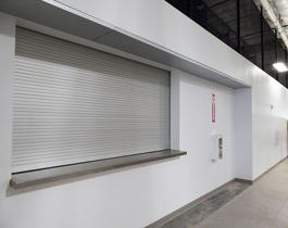 COILING FIRE SHUTTERS
