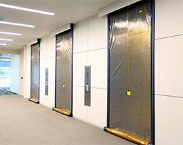 ELEVATOR SMOKE CONTAINMENT