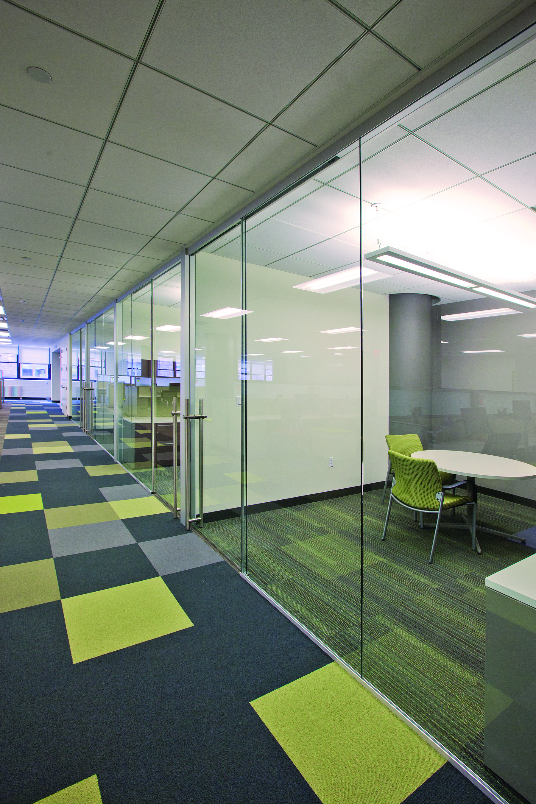 Interior Glass Partitions Dorma Interior Tech Seattle Portland