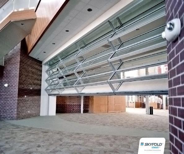Skyfold Vertical Folding Glass Walls Interior Tech
