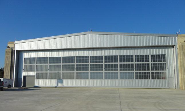 Hangar Doors Interior Tech Seattle Portland