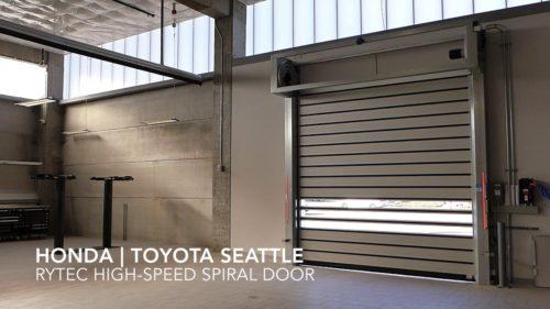 Rytec High Speed Spiral Doors