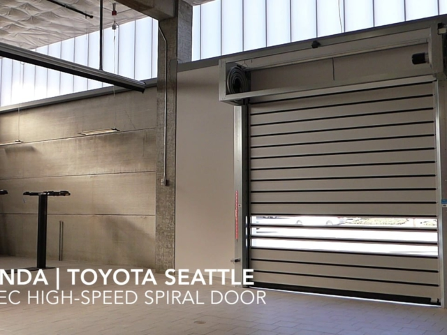 Rytec High Speed Spiral Doors