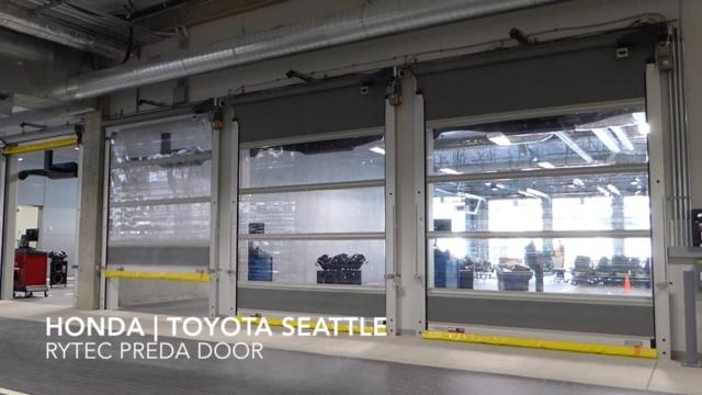Honda | Toyota of Seattle- Rytec PredaDoor, installed by Interior Tech