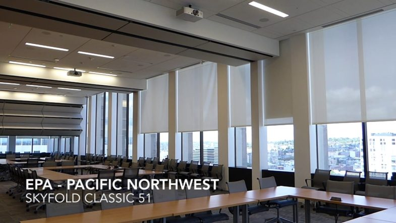 EPA Pacific Northwest - Skyfold, installed by Interior Tech