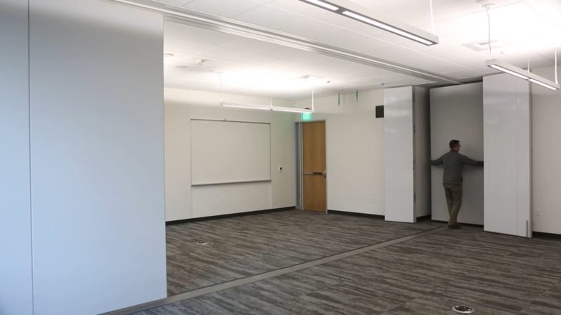 Modernfold Encore- Antioch University, installed by Interior Tech