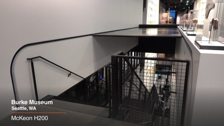 McKeon H200 at Burke Museum, installed by Interior Tech