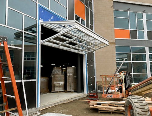 Crown Doors – Kennewick High School