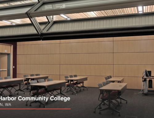 Grays Harbor College – Skyfold Walls